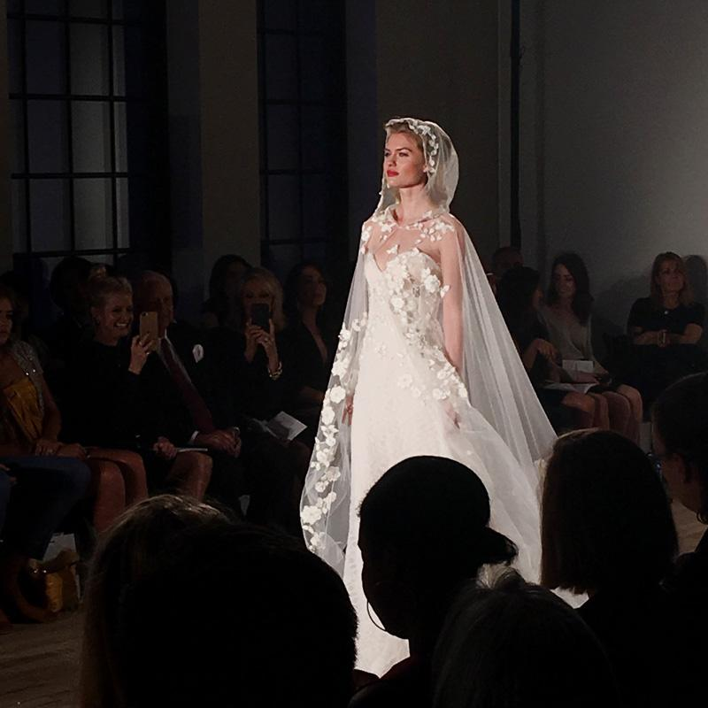 Allison Webb - NY Bridal Fashion Week - October 2017