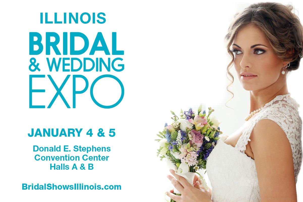 IL Bridal & Wedding Expo | Donald E. Stephens Convention in Rosemont, IL | January 2020 Bridal Show