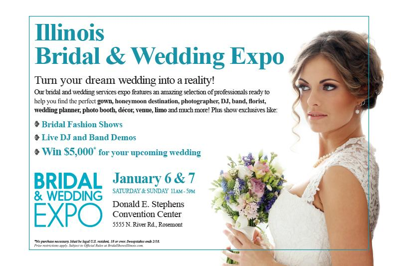 Illinois Bridal & Wedding Expo 2018 in Rosemont, Illinois