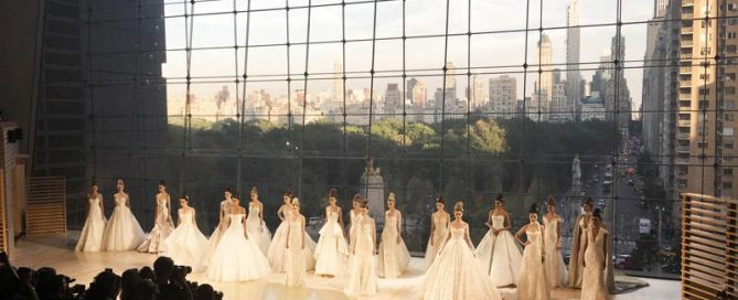 Ines di Santo - NY Bridal Fashion Week - October 2017