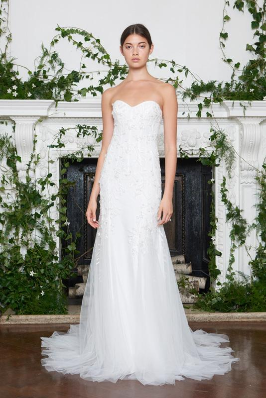 Monique Lhuillier - Bridal - Fall 2018