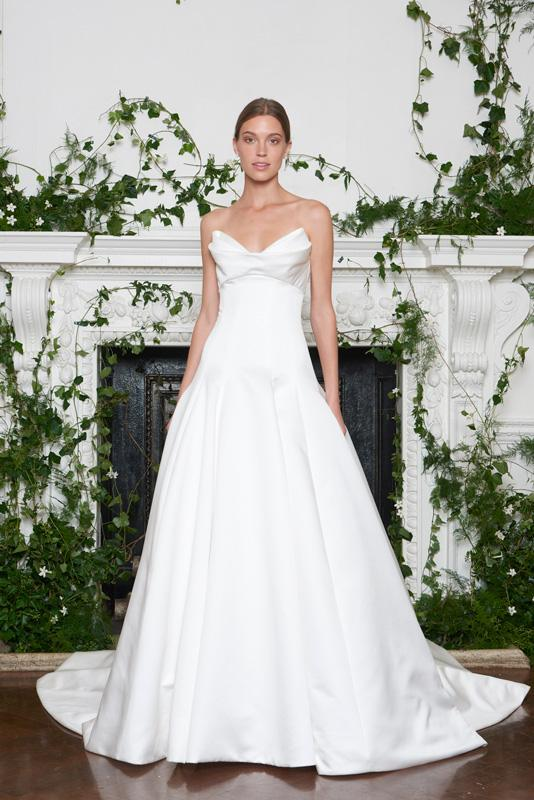 Monique Lhuillier Fall 2018 Bridal Collection
