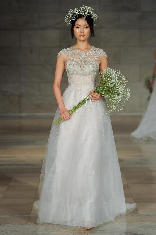 Reem Acra - Bridal - Fall 2018