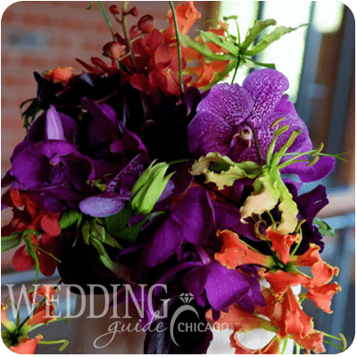 Romantic Purple And Green Wedding Shoot With Beautiful Cake Details