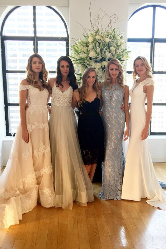 Kelly Faetanini - NY Bridal Fashion Week - October 2017