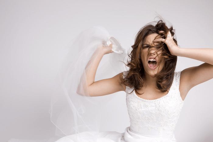 Image result for stressed bride