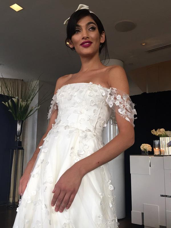 Sareh Nouri - NY Bridal Fashion Week - October 2017