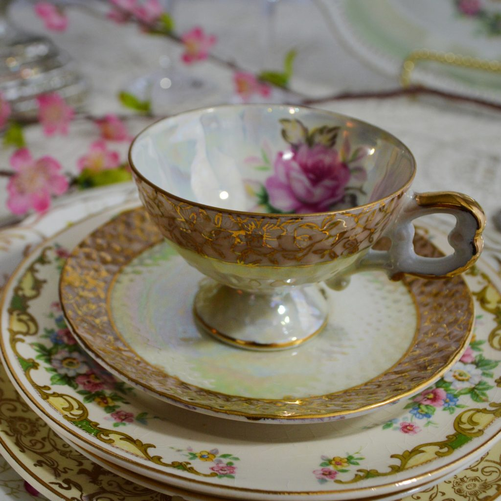 Welcome To The Something Borrowed Vintage China