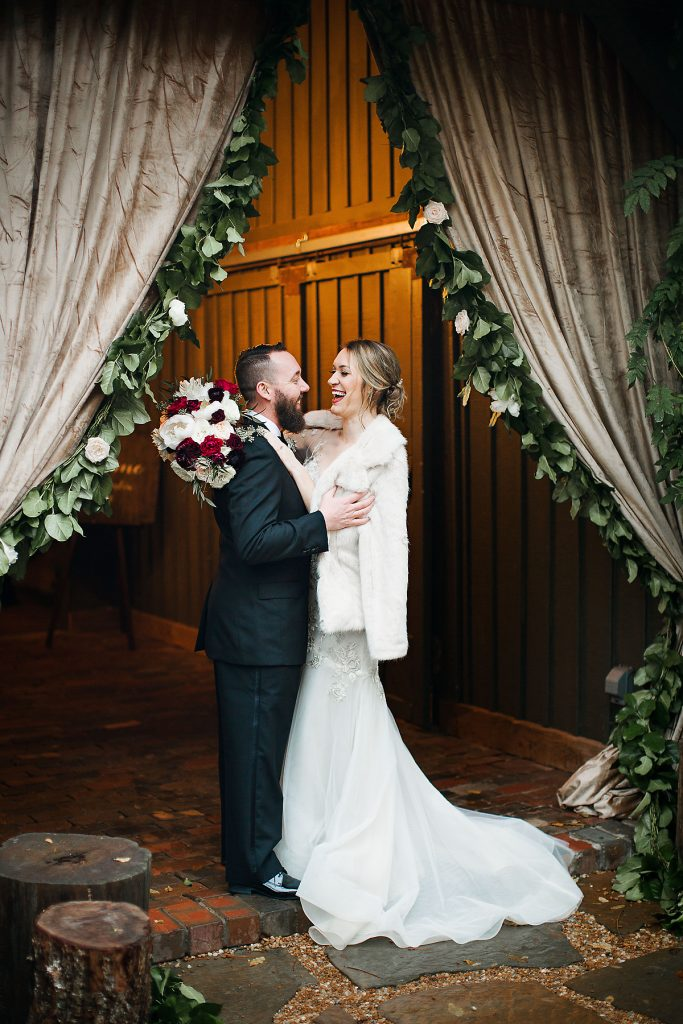 Rustic Winter Wedding at Vinewood Plantation in Newnan, GA - The ...