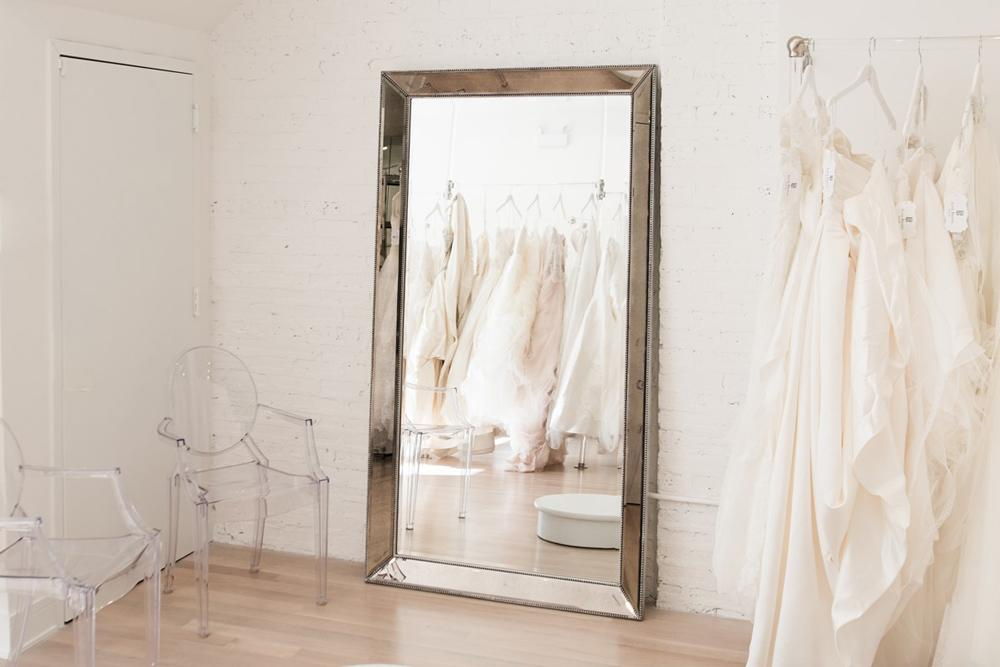 Luxe Bridal Rack in Chicago, Illinois