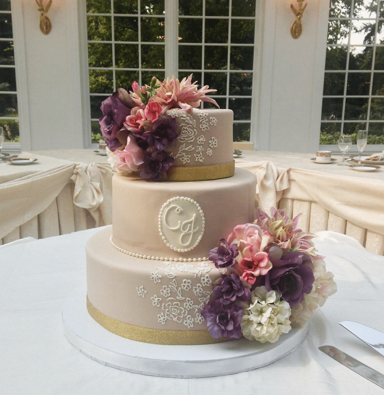 Beautiful Wedding Cakes By The Baking Grounds Bakery Café: The Celebration Society