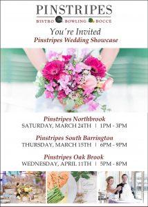 Pinstripes Wedding Showcase 2018 Northbrook South Barrington Oak Brook