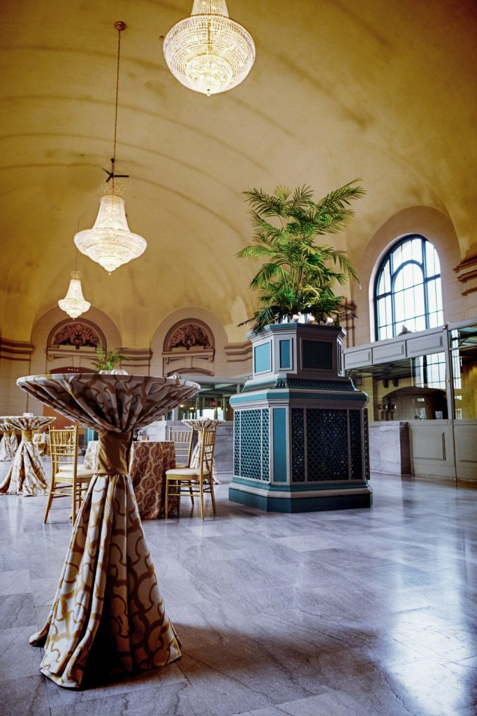 The Grand Ballroom at Joliet Union Station - The
