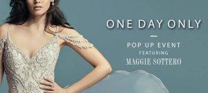 Crystal Bride Maggie Sottero Pop Up Shop April 2018