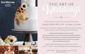 Westin Chicago Northwest Bridal Show March 2018 Itasca, Illinois