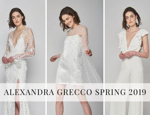 Alexandra Grecco Spring 2019 Bridal Collection