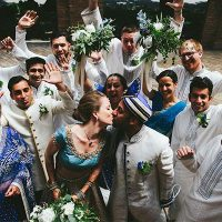 Color Your Day Beautiful Article   July 2017   Native Weddings Photography