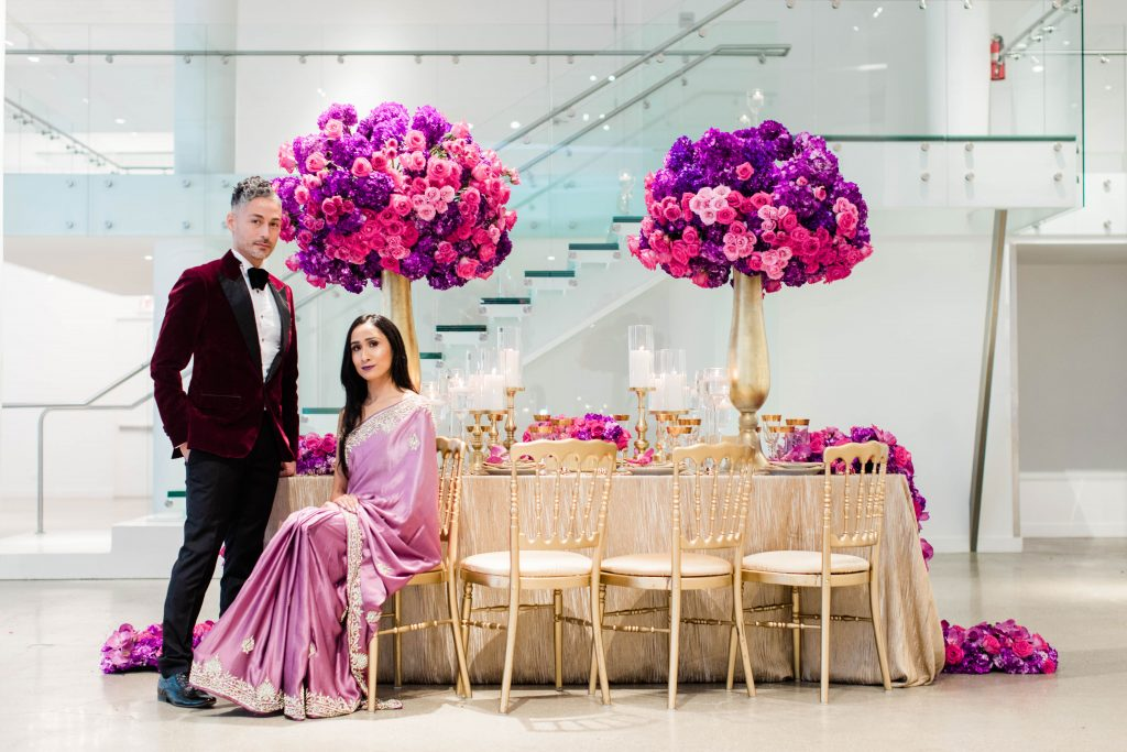 Elegant Bright And Bold Indian Wedding Inspiration The