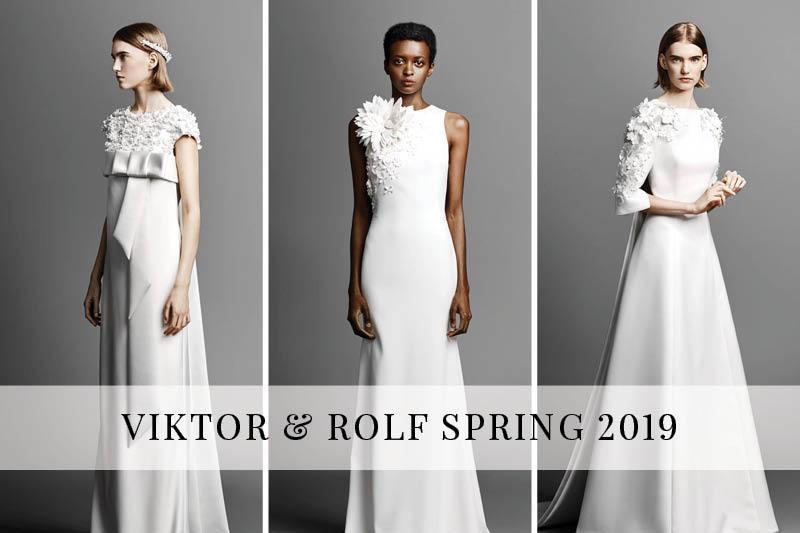 d40f346de7219 Viktor & Rolf Spring 2019 – ChicagoStyle Weddings
