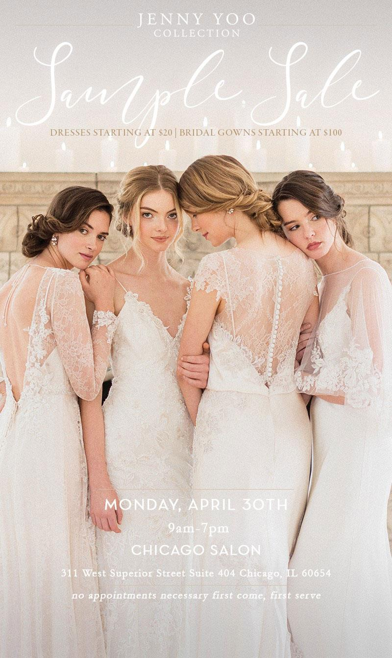 Jenny Yoo Sample Sale - April 2018