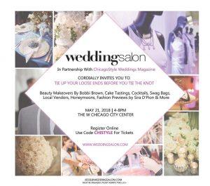 Wedding Salon Chicago The W City Center may 2018