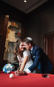 Tomi & Matan at Hilton Chicago in Chicago IL bride and groom