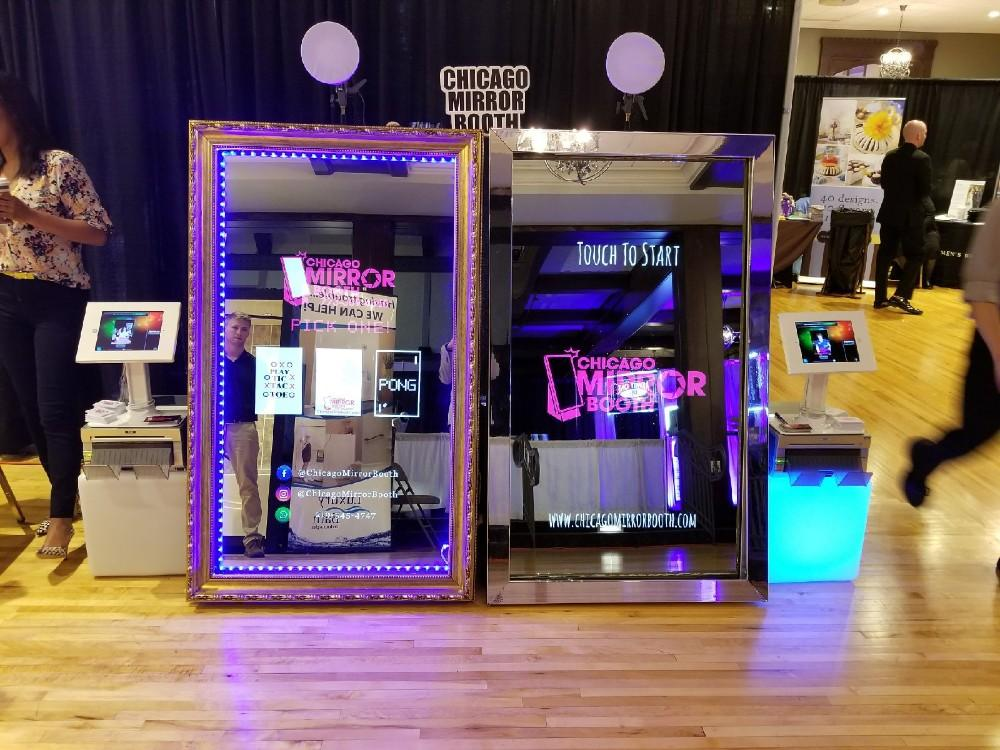 Chicago Mirror Booth in Highland, Indiana