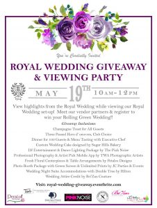 Royal Wedding Giveaway at Rolling Green Country Club in Arlington Heights, IL