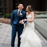 Real Wedding: Kelly & Kevin - Chicago Wedding - Jan 2018