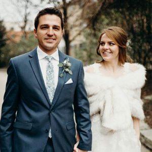 Real Wedding: Haley and Josh Metropolis Ballroom July 2018