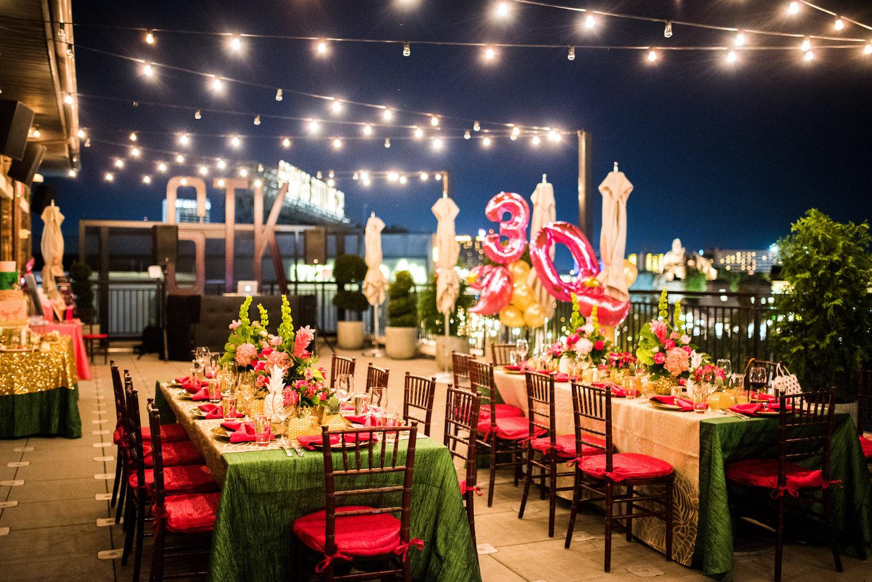 Orlando Wedding And Party Rentals.Fabulous Flamingo 30th Birthday Party The Celebration Society
