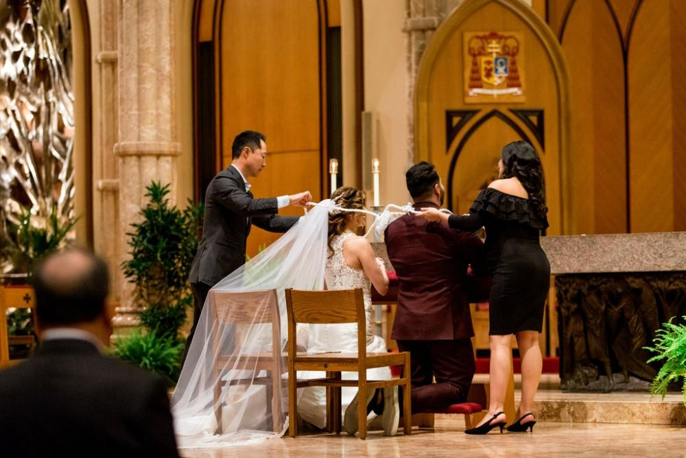 Claudia and Juan ceremony