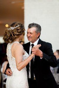 Claudia and Juan father daughter dance