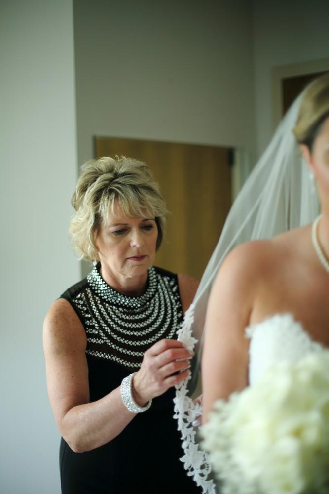 Delaney and Ross mother of the bride getting ready