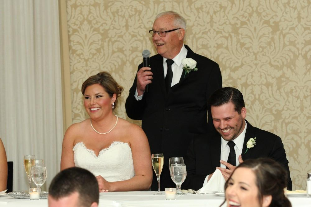 Delaney and Ross speech father of the bride