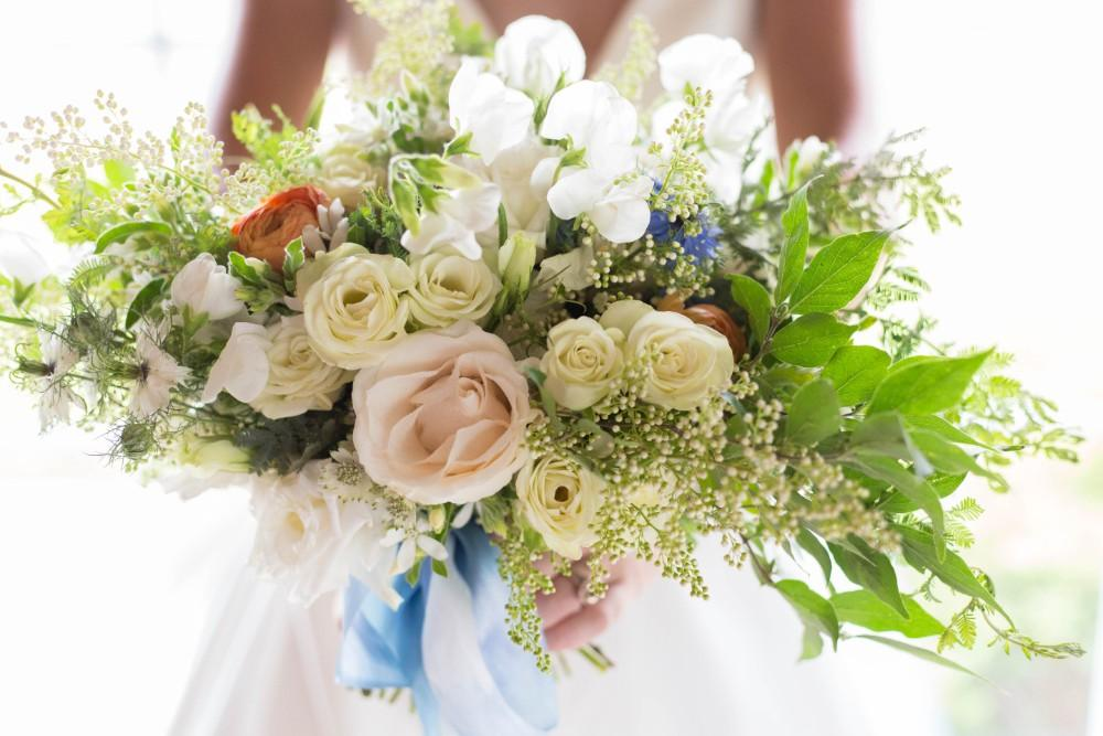 Dusty Blue Romance flowers