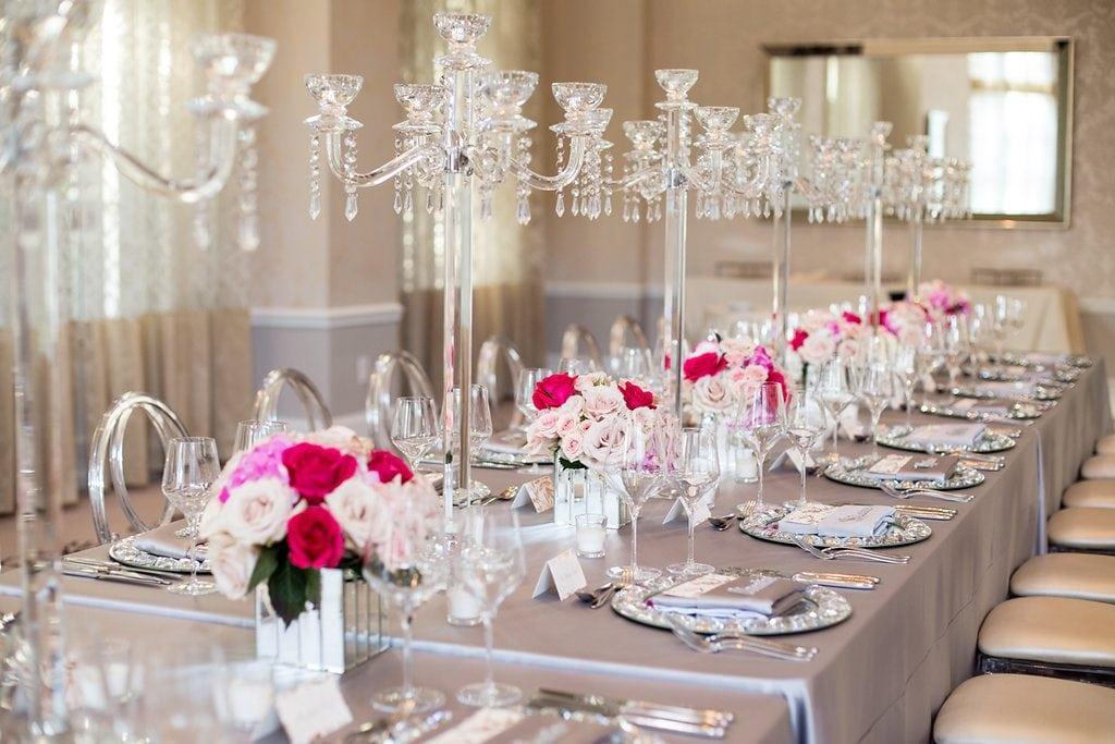Elegant Crystal Inspired Birthday Party