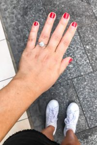 Liz and Colin - proposal story - engaged - engagement