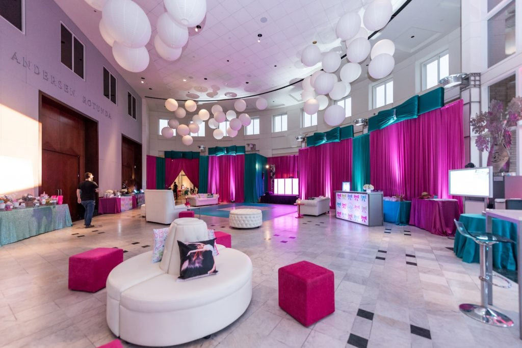 Pink And Blue Favorites Bat Mitzvah