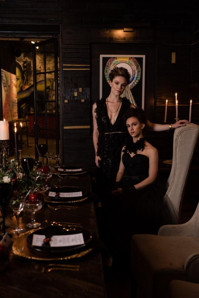 Styled Shoot Midnight Romance13