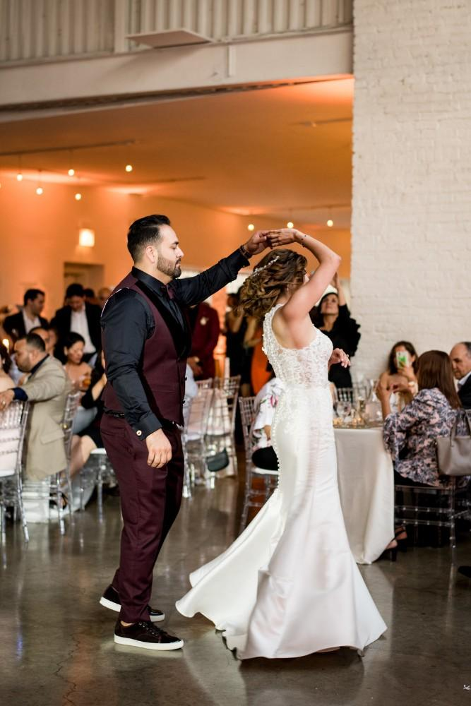 Claudia and Juan first dance