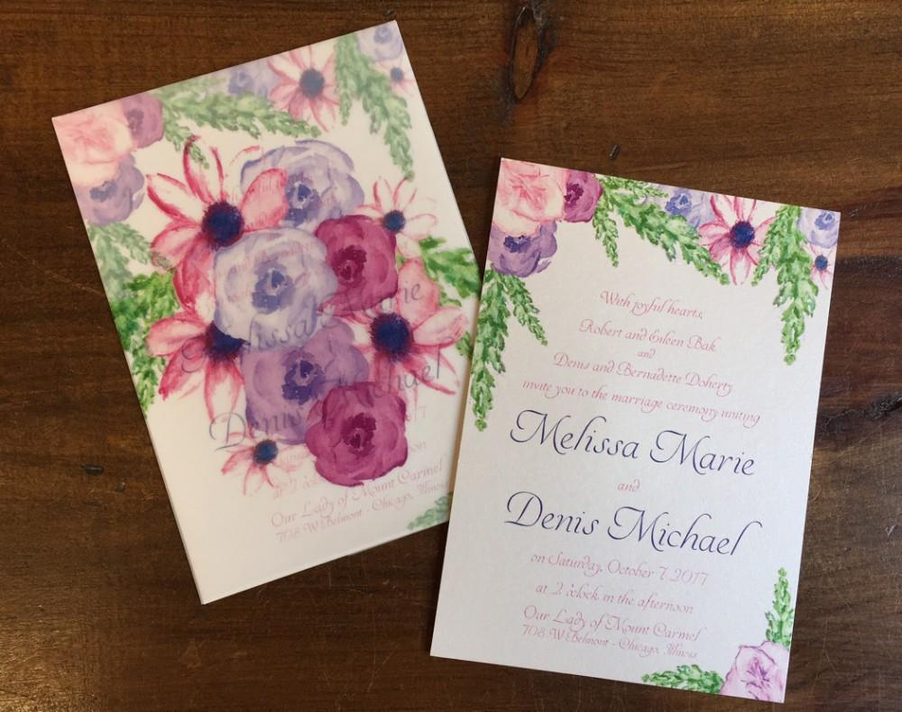 2018 2019 Stationery Trends - invitations - invitation style