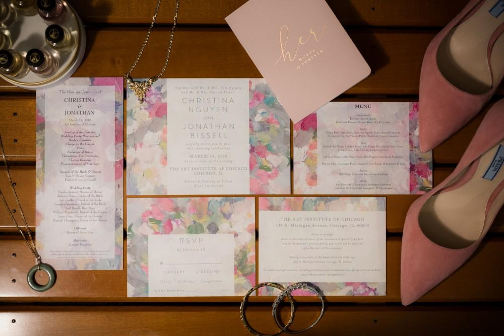 tina and jonathan stationery