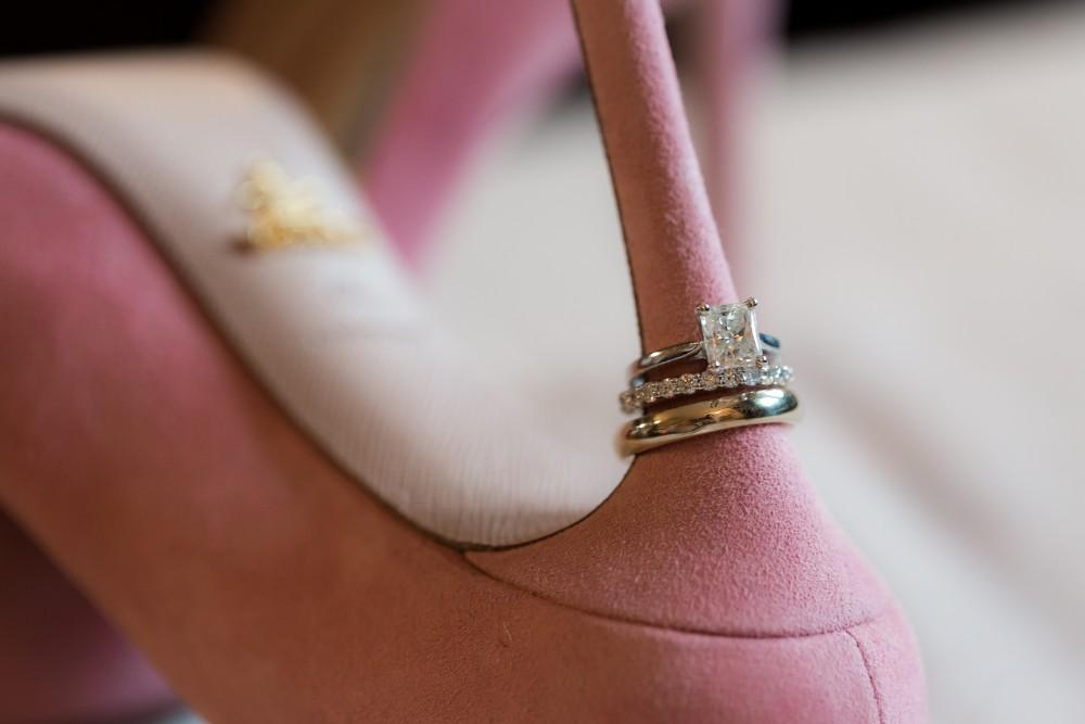 tina and jonathan rings on shoes