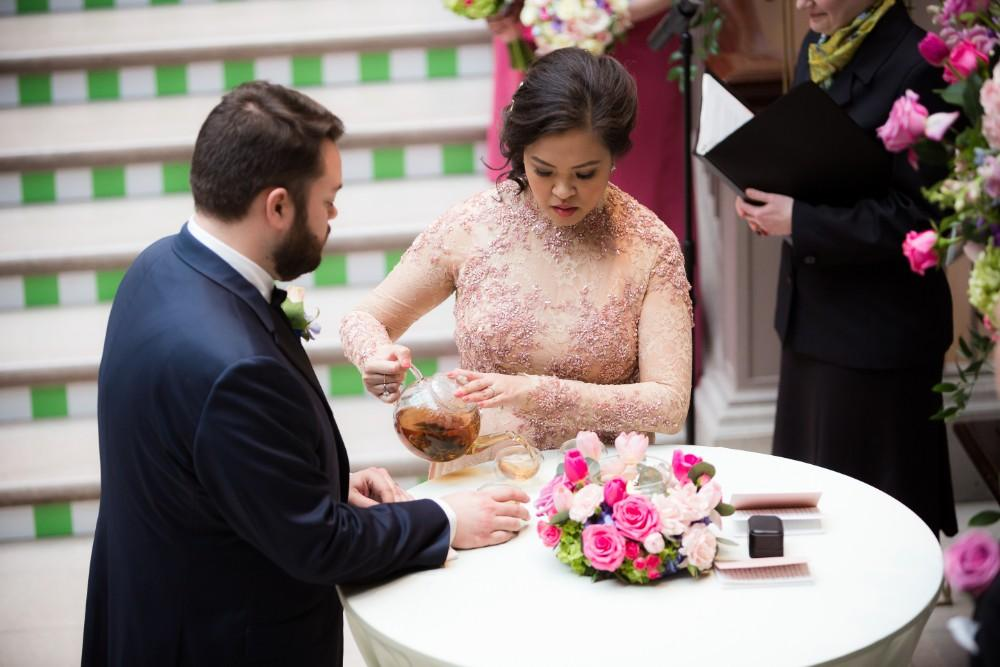 tina and jonathan tea ceremony