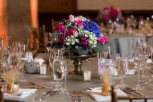 tina and jonathan flowers table setting