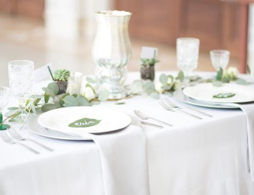 Styled Shoot – Luxurious Romantic Greenery