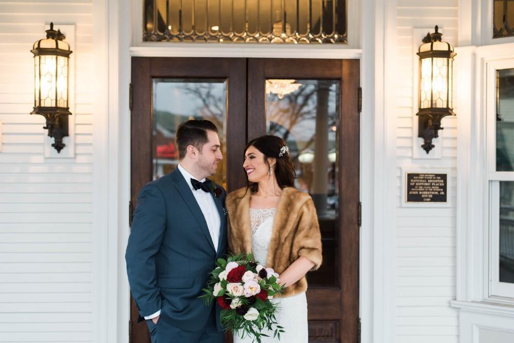 Christine Ken bride and groom portrait