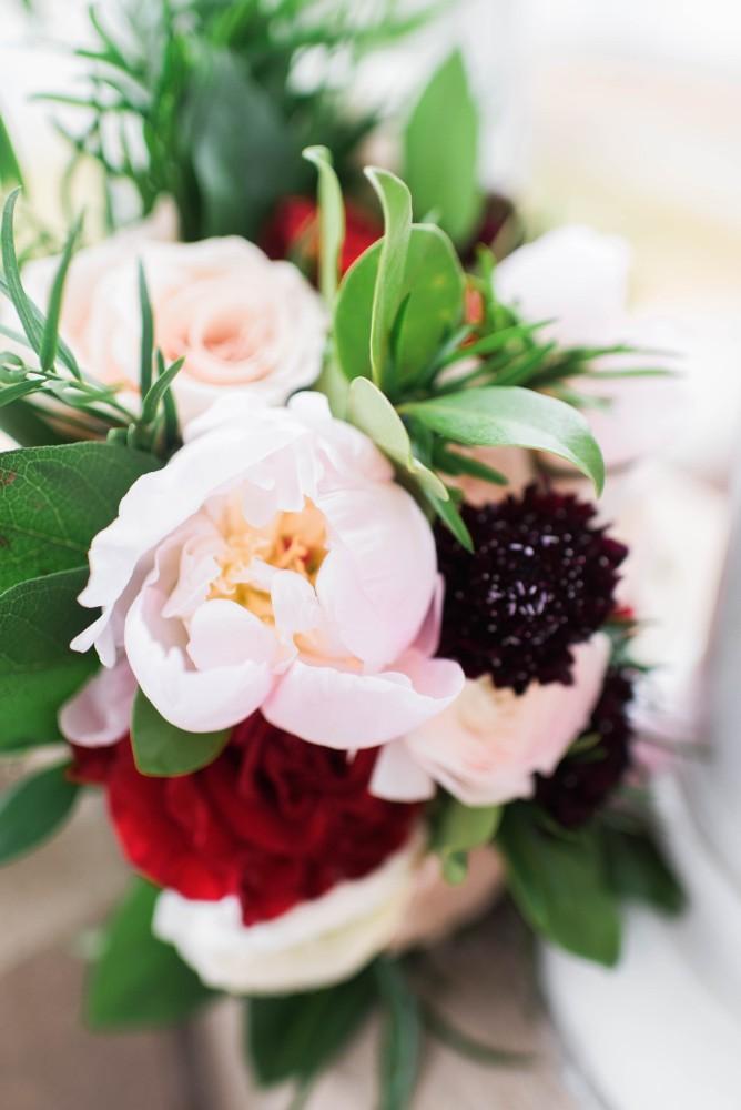 Christine Ken flowers bride bouquet