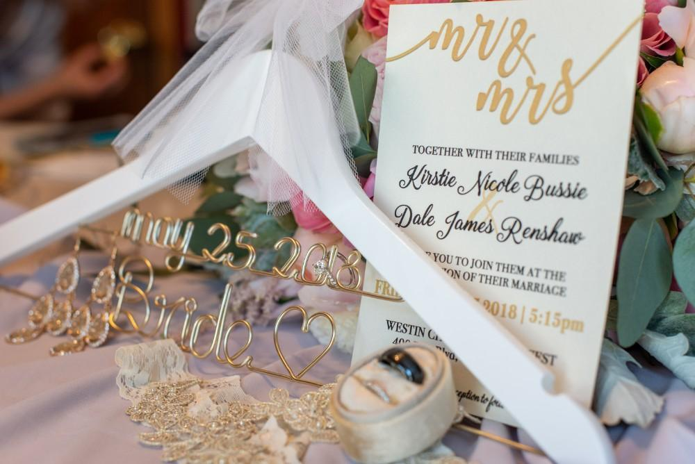 Kirstie Dale invitation hanger